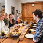 Delicious vineyard lunch and wine tasting with Wanaka Wine Tours